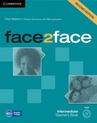face2face. Intermediate Teachers Book   DVD - okładka podręcznika