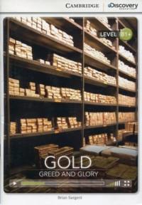 Gold Greed and Glory. Intermediate - okładka podręcznika