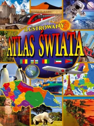Ilustrowany Atlas Świata - okładka książki