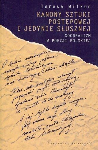 Kanony sztuki postępowej i jedynie - okładka książki