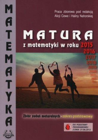 Matura z matematyki w roku 2015, - okładka podręcznika