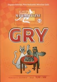 Miniatury matematyczne 53. Gry - okładka podręcznika