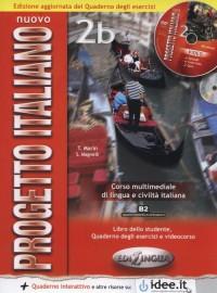 Nuovo progetto italiano 2B. Libro - okładka podręcznika