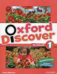 Oxford Discover 1. Workbook - okładka podręcznika