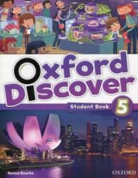 Oxford Discover 5. Students Book - okładka podręcznika
