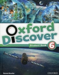 Oxford Discover 6. Students Book - okładka podręcznika