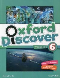 Oxford Discover 6. Workbook - okładka podręcznika