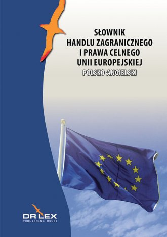 Polsko-angielski słownik handlu - okładka książki