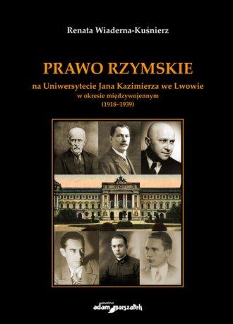 Prawo Rzymskie na Uniwersytecie - okładka książki