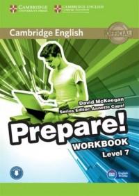 Prepare! 7 Workbook - okładka podręcznika