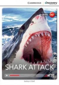 Shark Attack Low Intermediate Book - okładka podręcznika