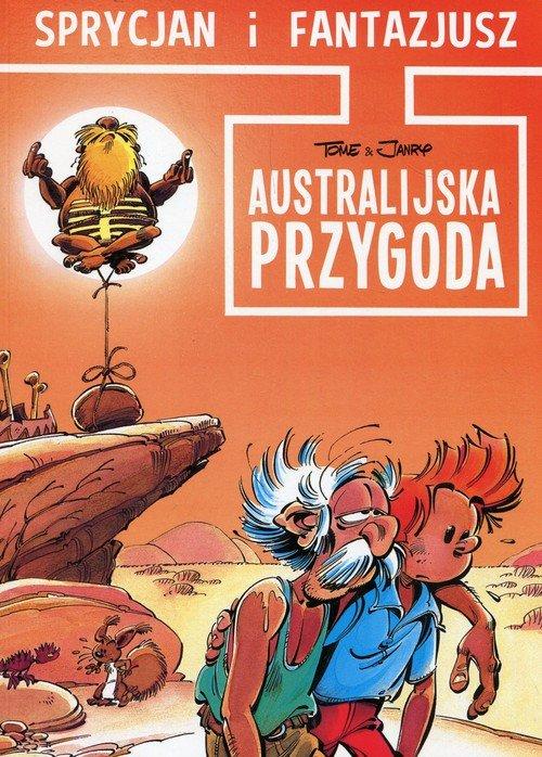 Sprycjan i Fantazjusz. Australijska - okładka książki