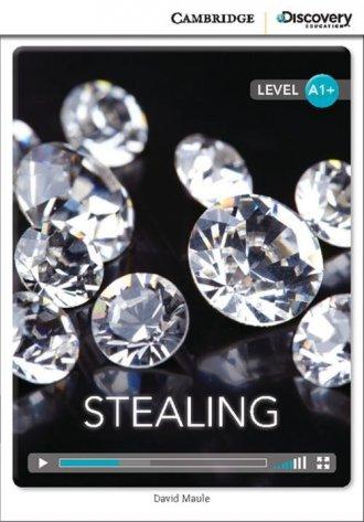 Stealing High Beginning Book with - okładka podręcznika