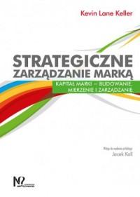 Strategiczne zarządzanie marką. - okładka książki