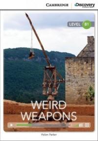 Weird Weapons Intermediate Book - okładka podręcznika