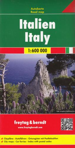Włochy mapa (skala 1:600 000) - okładka książki