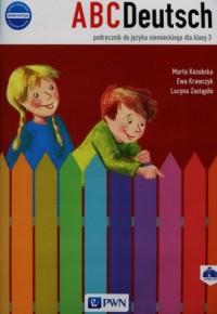 ABCDeutsch 3. Podręcznik (+ 2 CD). - okładka podręcznika