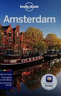 Amsterdam. Przewodnik Lonely Planet - okładka książki