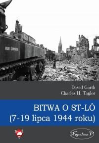 Bitwa o St-LO (7-19 lipca 1944 - okładka książki