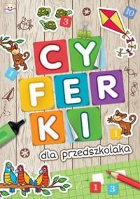 Cyferki dla przedszkolaka - okładka podręcznika