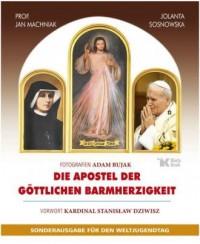 Die Apostel der Göttlichen Barmherzigkeit. Sonderausgabe für den Weltjugendtag (wersja niem.) - okładka książki
