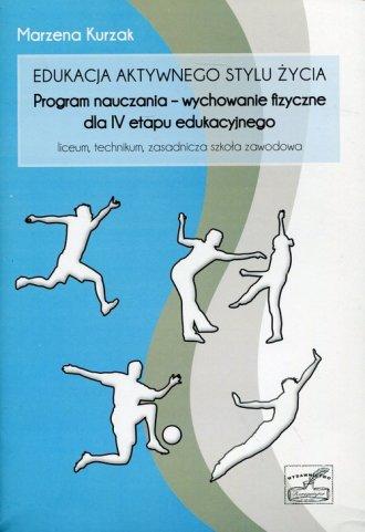 Edukacja aktywnego stylu życia: - okładka podręcznika