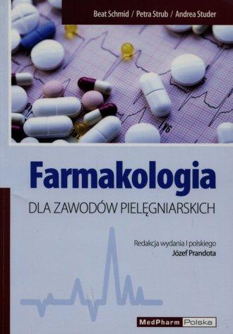 Farmakologia dla zawodów pielęgniarskich - okładka książki