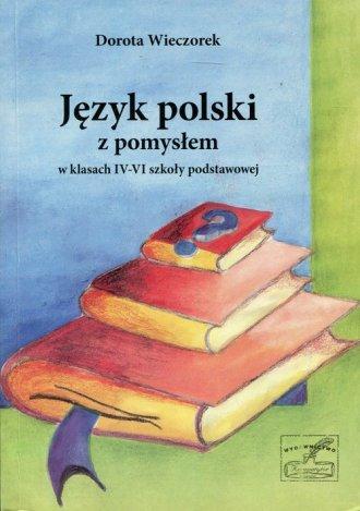 Język polski z pomysłem w klasach - okładka podręcznika