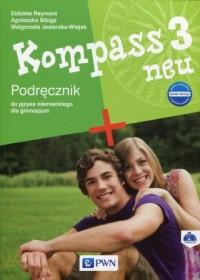 Kompass 3 neu. Nowa edycja. Gimnazjum. - okładka podręcznika
