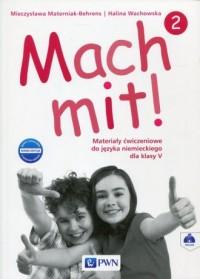 Mach mit! 2 Nowa edycja. Klasa 5. Szkoła podstawowa. Materiały ćwiczeniowe - okładka podręcznika