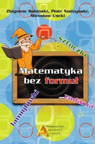 Matematyka bez formuł - okładka podręcznika