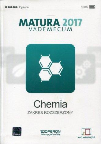 Matura 2017. Vademecum. Chemia. - okładka podręcznika