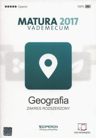 Matura 2017. Vademecum. Geografia. - okładka podręcznika