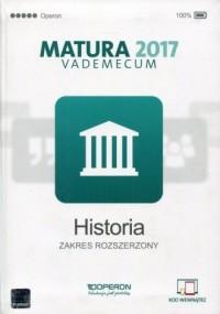 Matura 2017. Vademecum. Historia. - okładka podręcznika