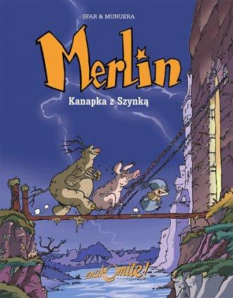 Merlin. Tom 1. Kanapka z Szynką - okładka książki