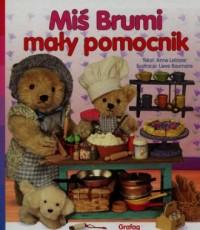 Miś Brumi, mały pomocnik - okładka książki