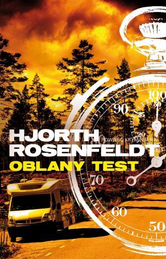 Oblany test - okładka książki