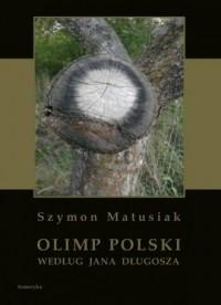 Olimp polski według Jana Długosza - zdjęcie reprintu, mapy
