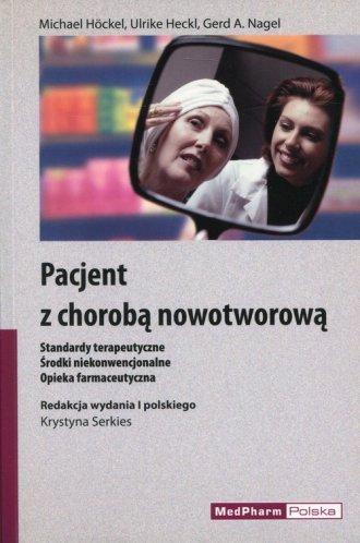 Pacjent z chorobą nowotworową - okładka książki