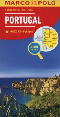 Portugalia (skala 1:300 000).  Zoom System - okładka książki