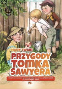Przygody Tomka Sawyera - Mark Twain - pudełko audiobooku