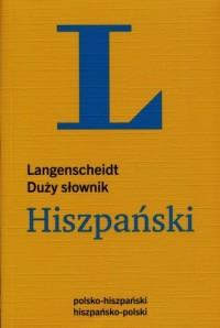 Słownik hiszpański duży, polsko-hiszpański, hiszpańsko-polski - okładka książki