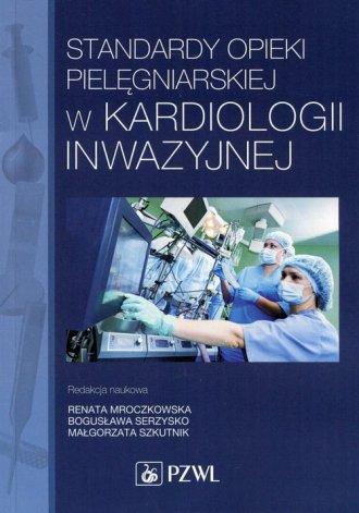 Standardy opieki pielęgniarskiej - okładka książki