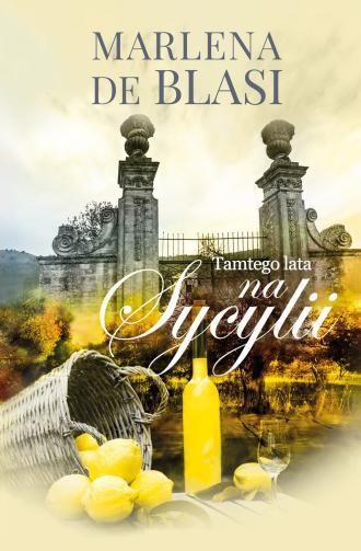 Tamtego lata na Sycylii - okładka książki