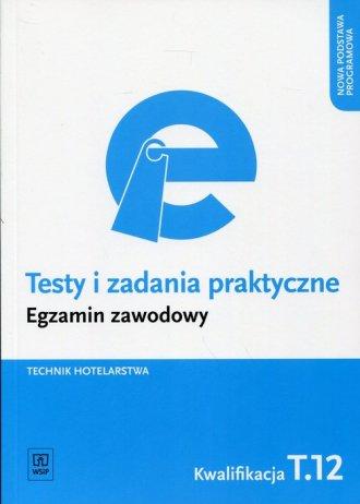 Testy i zadania praktyczne. Egzamin - okładka podręcznika