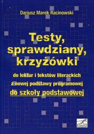 Testy, sprawdziany, krzyżówki do - okładka podręcznika