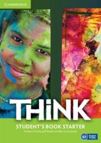 Think Starter Students Book - okładka podręcznika