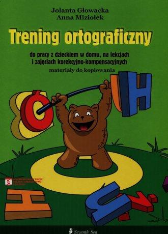 Trening ortograficzny do pracy - okładka książki