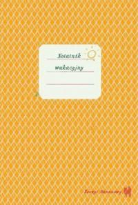 Zeszyt bananowy. Notatnik wakacyjny - okładka książki