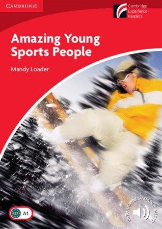 Amazing Young. Sports People 1. - okładka podręcznika